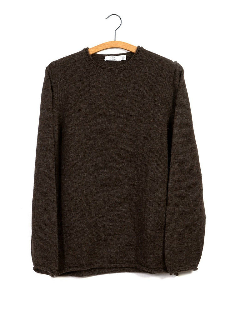 BOILED BABY ALPACA TUNIC | Crew Neck Knit | Sioc | €260 -Inis Meáin- HANSEN Garments