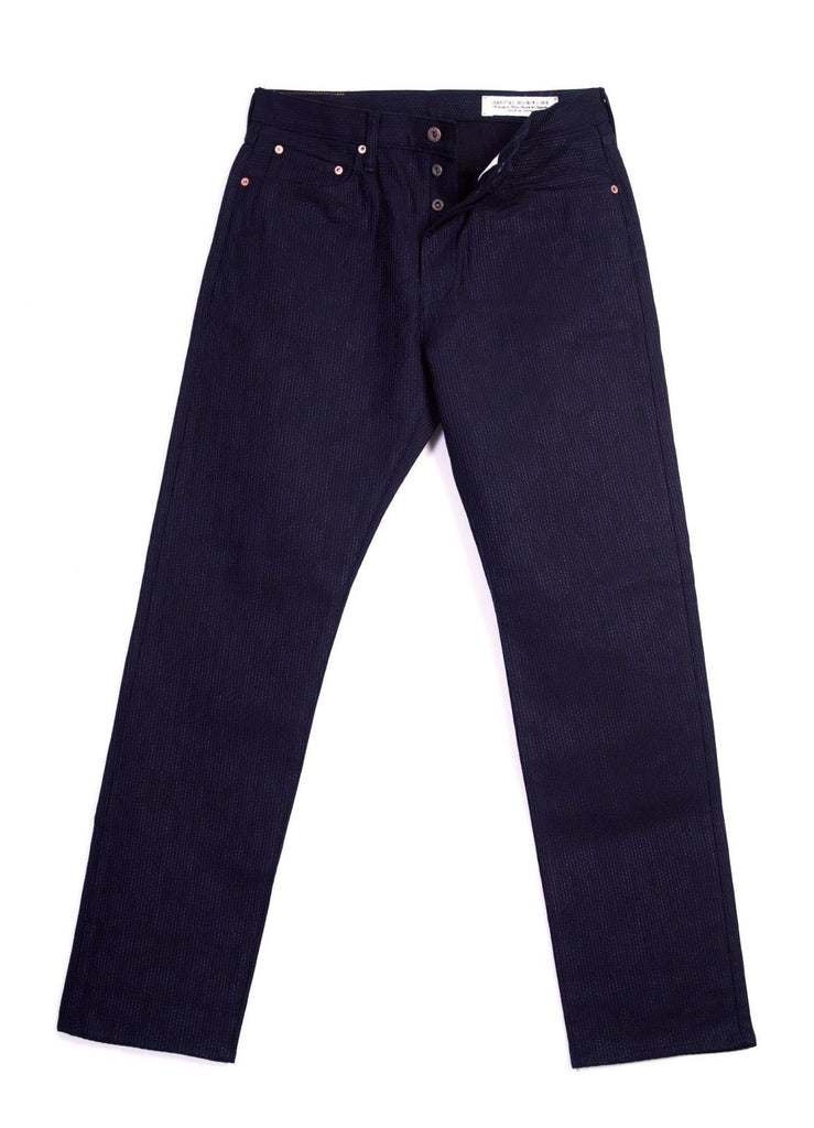 CENTURY DENIM MONKEY CISCO | Sashiko Jeans | Indigo | €595 -Kapital- HANSEN Garments