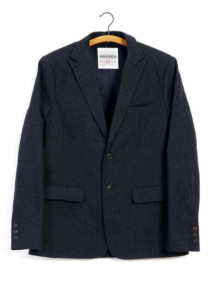 HANSEN Garments - CHRISTOFFER | Classic Two Button Blazer | Fjord - HANSEN Garments