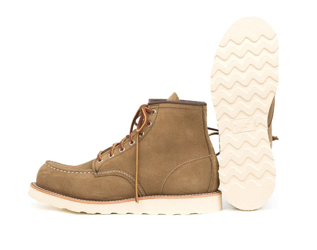 RED WING - CLASSIC MOC | 6-inch | Olive Mohave - HANSEN Garments