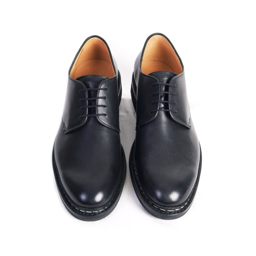 CROCUS | Leather Derby Shoe | Black | €420 -Heschung- HANSEN Garments