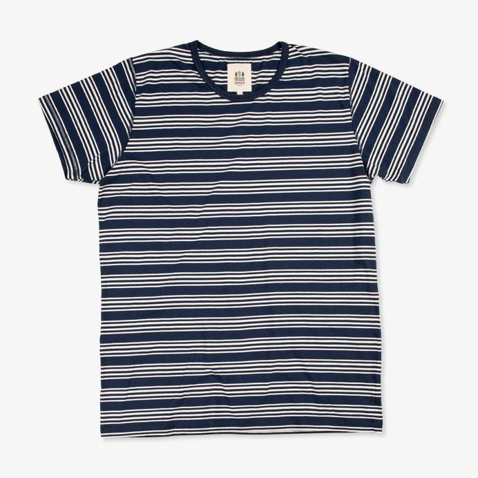 DANI | Short Sleeve T-shirt | Bleu Mayol Stripe | €60 -HEMEN BIARRITZ- HANSEN Garments