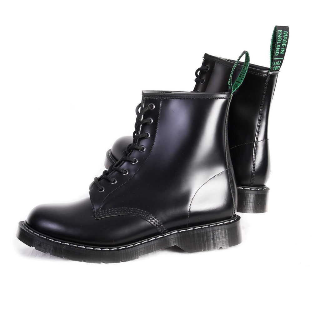 DERBY BOOT | 8 Eye | Black | €205 -Solovair- HANSEN Garments