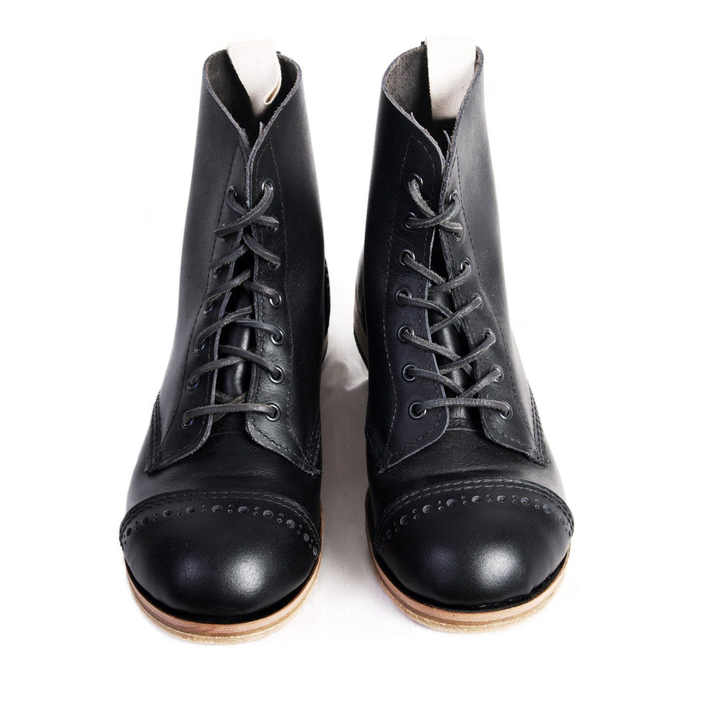 DERBY BOOT | Traditional Work Boot | Black | €375 -William Lennon- HANSEN Garments