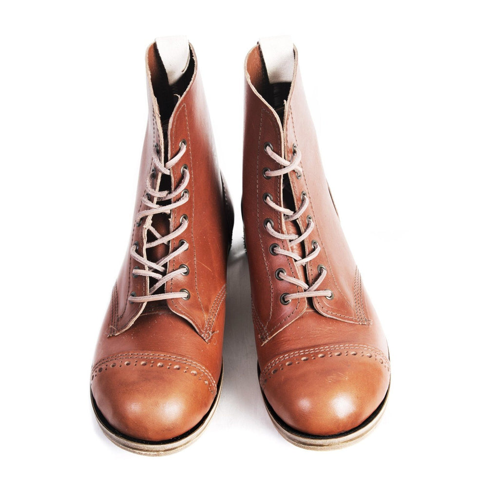 DERBY BOOT | Traditional Work Boot | Cognac | €375 -William Lennon- HANSEN Garments