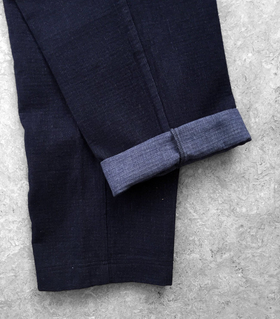 EIGIL | Trousers | Navy Mel | €250 -HANSEN Garments- HANSEN Garments