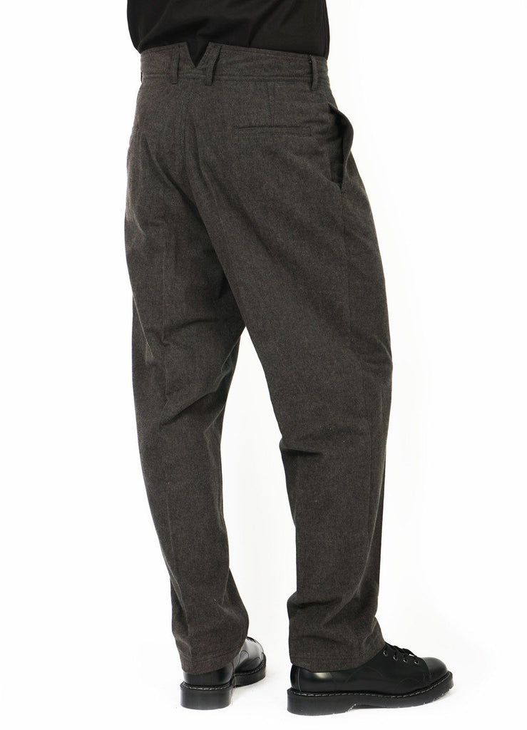 EIGIL | Wide Work Trousers | Coal | €240 -HANSEN Garments- HANSEN Garments