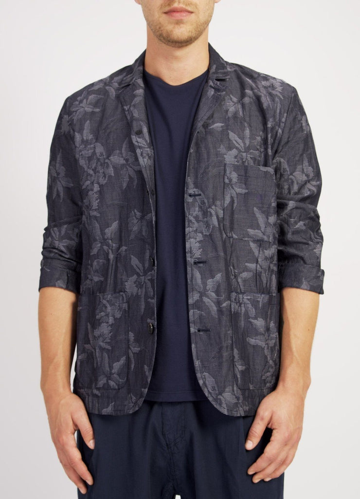 ELIAS | Loose Fit Five Button blazer | Botanic Indigo | €390 -HANSEN Garments- HANSEN Garments