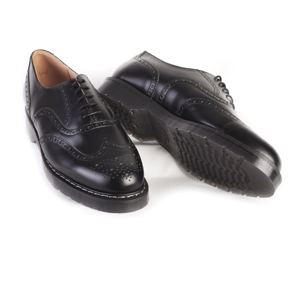ENGLISH BROGUE | 5 Eye | Black | €175 -Solovair- HANSEN Garments