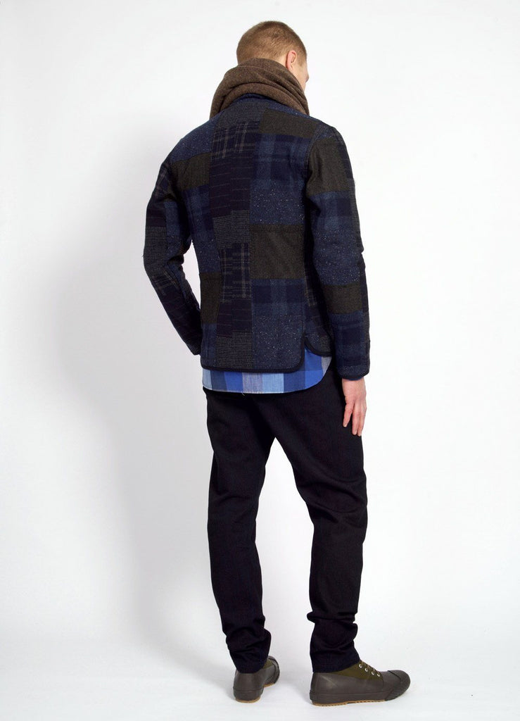 ERLING | Quilted Work Jacket | Patchwork | €495 -HANSEN Garments- HANSEN Garments