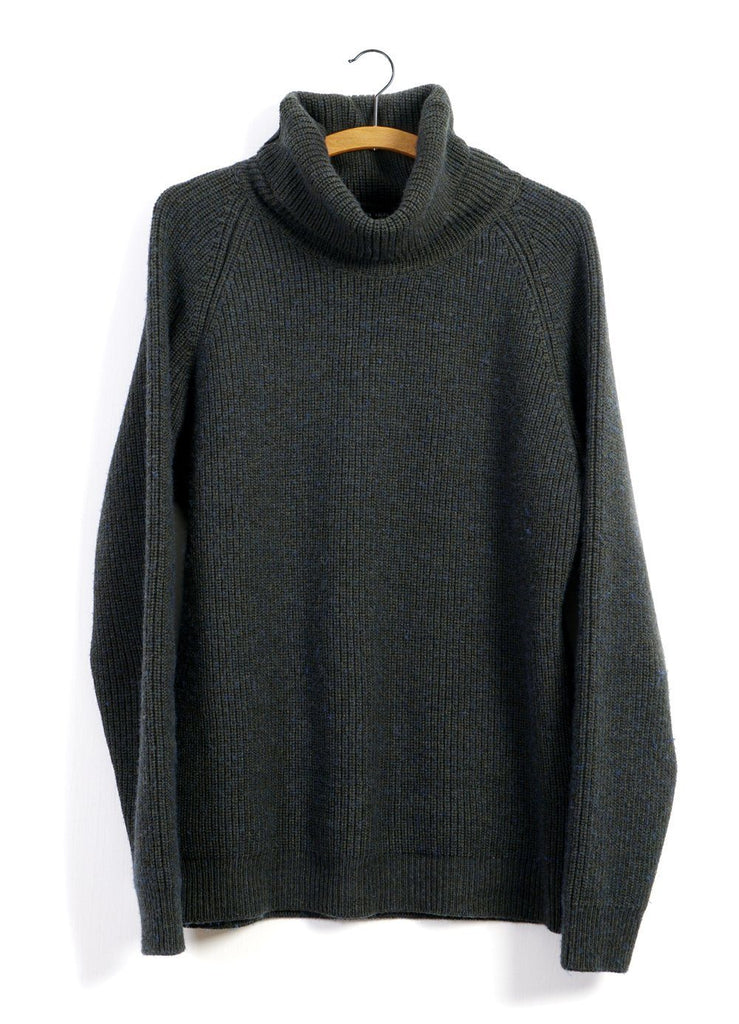 ESBEN | Heavy Knit Sweater | Pinetree | €240 -HANSEN Garments- HANSEN Garments