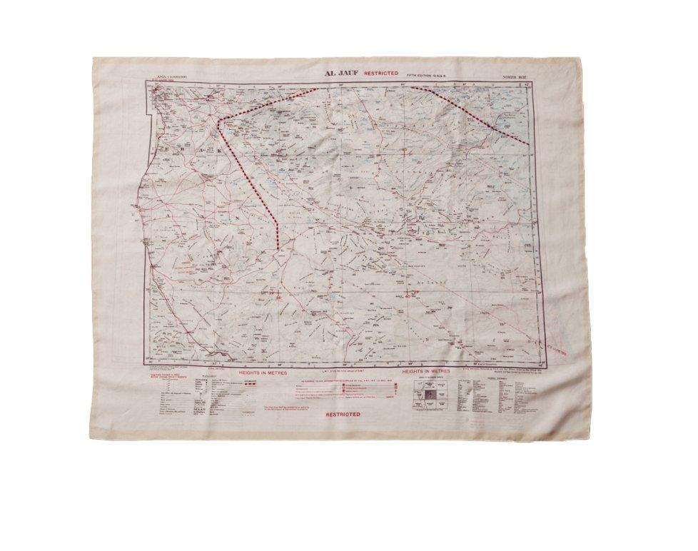 BONHOMME - ESCAPE SCARF | BEYROUTH DAMAS AL JAUF | Map - HANSEN Garments
