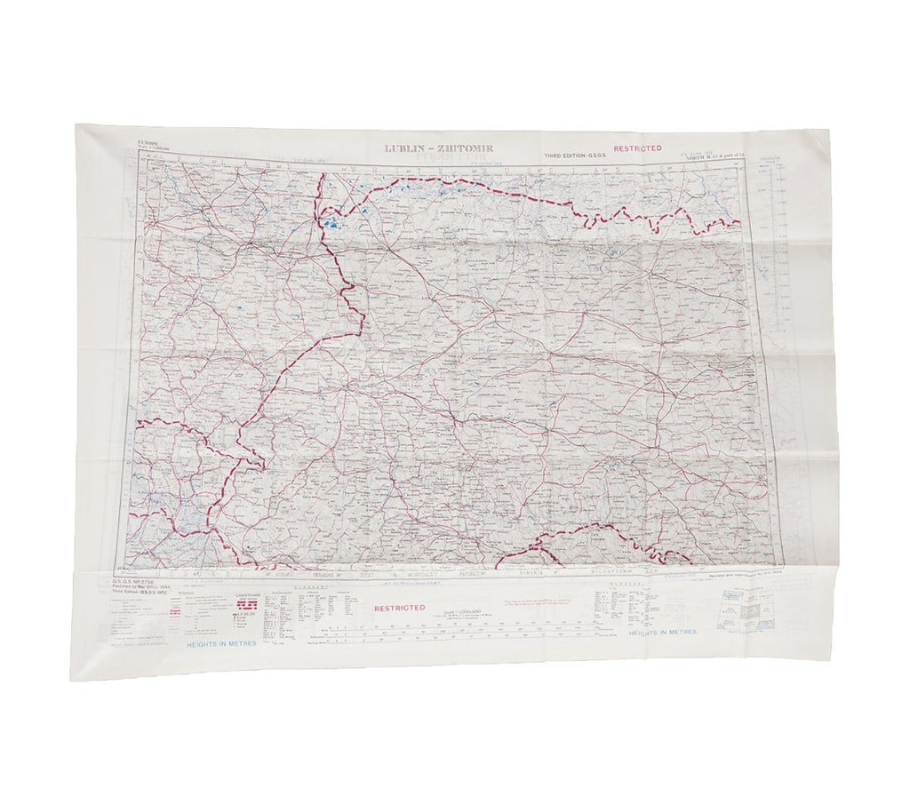 BONHOMME - ESCAPE SCARF | BUCHAREST LUBIN ZHITOMIR | Map - HANSEN Garments