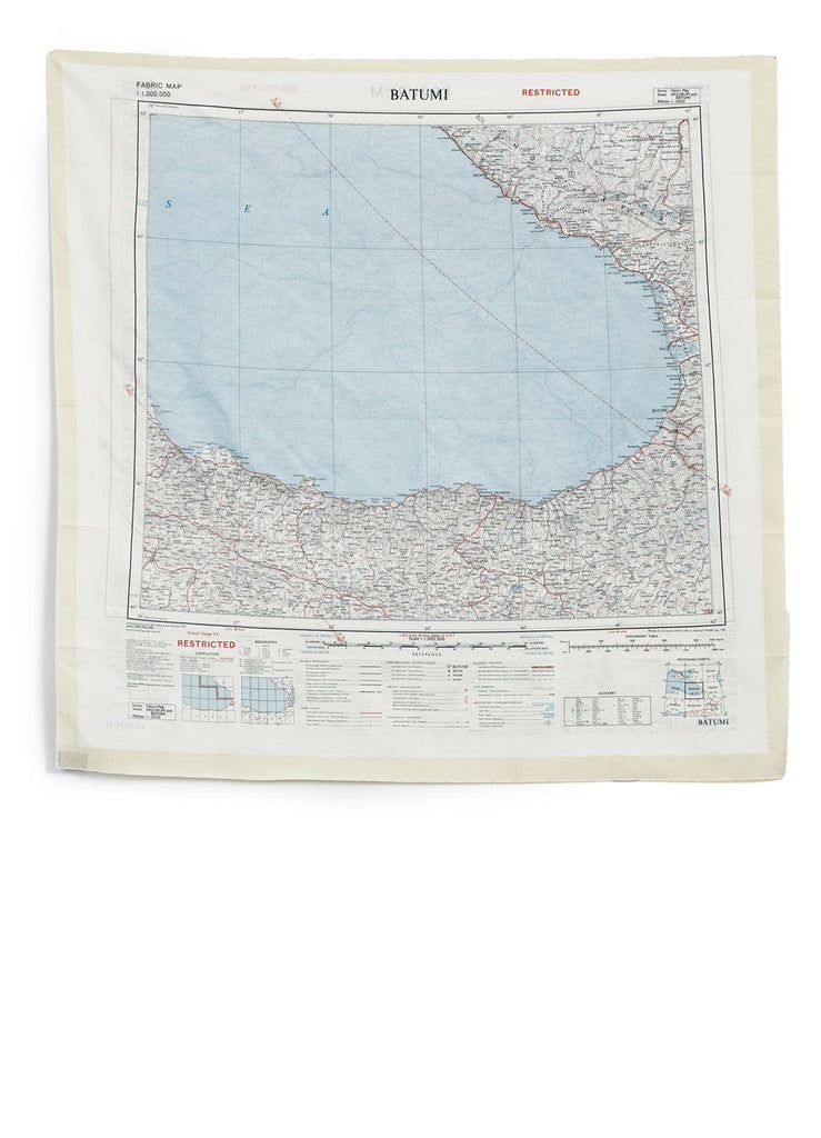 BON HOMME - ESCAPE SCARF | Erzurum Batumi | Map - HANSEN Garments