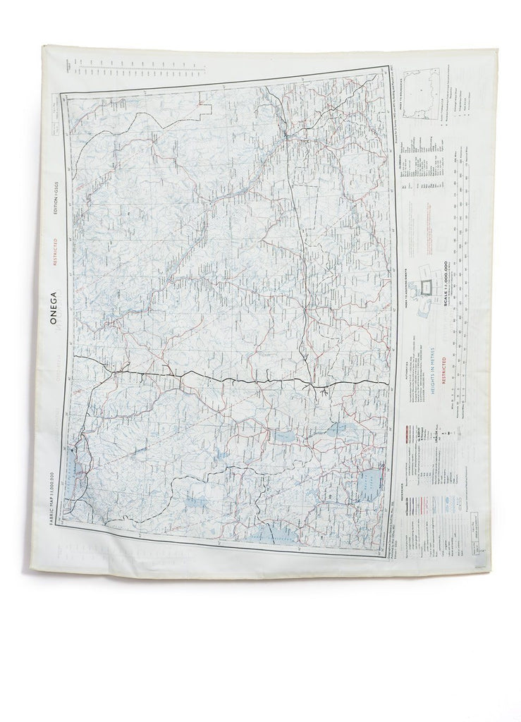 BON HOMME - ESCAPE SCARF | Onega Cherdyn | Map - HANSEN Garments