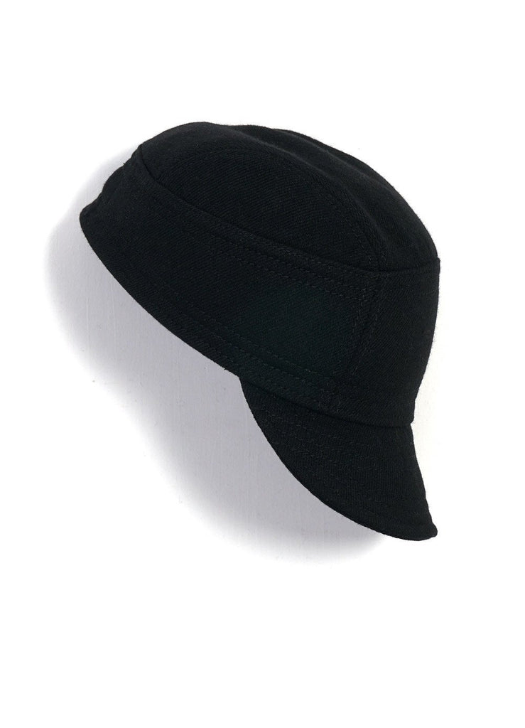 HANSEN Garments - ESKILD | Mechanics Cap With Earflaps | Black - HANSEN Garments