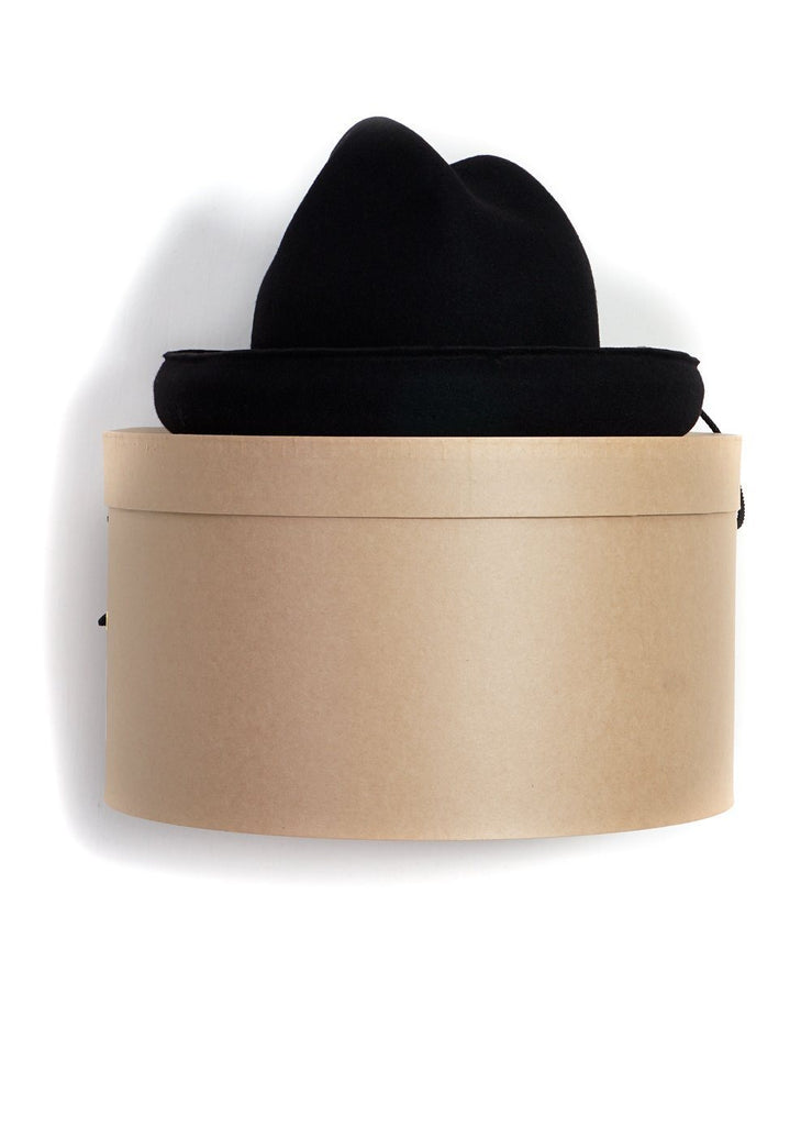 MOUNTAIN RESEARCH - EXAGGERATED HAT | Black - HANSEN Garments