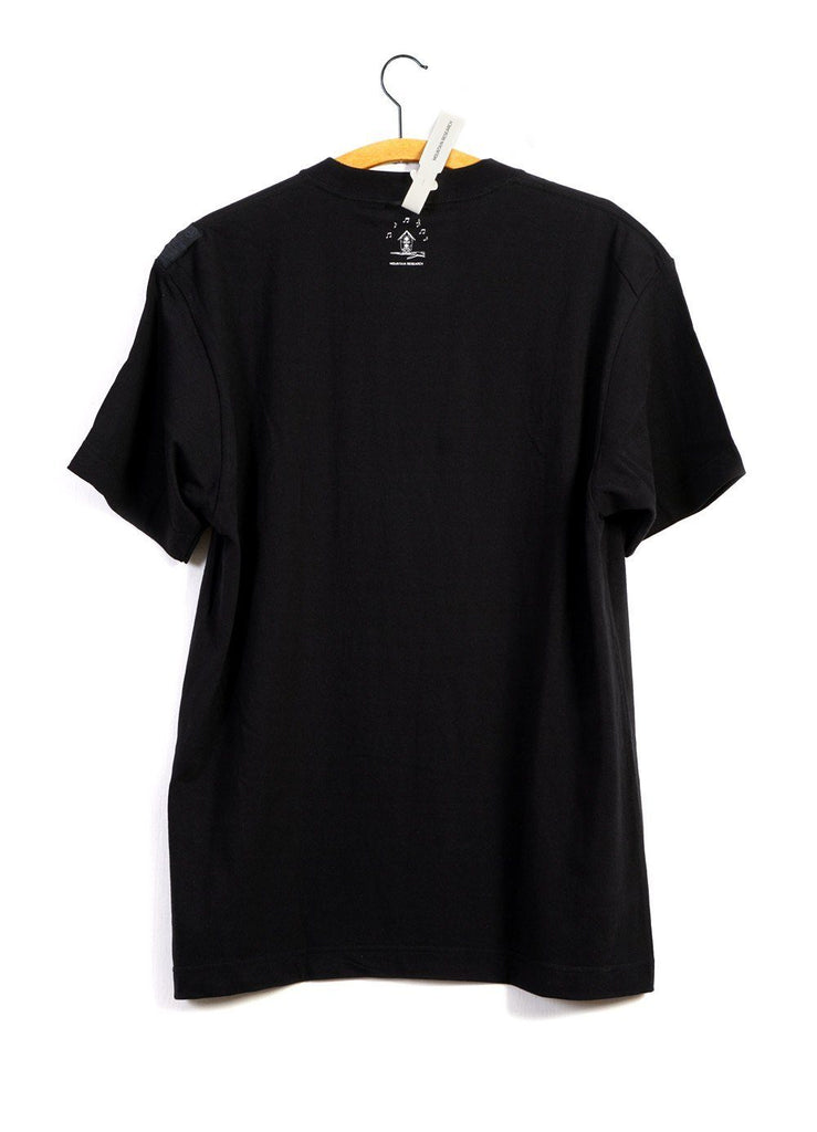 FAVORITE TRACK T | Don't Believe The Hype | Black | €115 -MOUNTAIN RESEARCH- HANSEN Garments