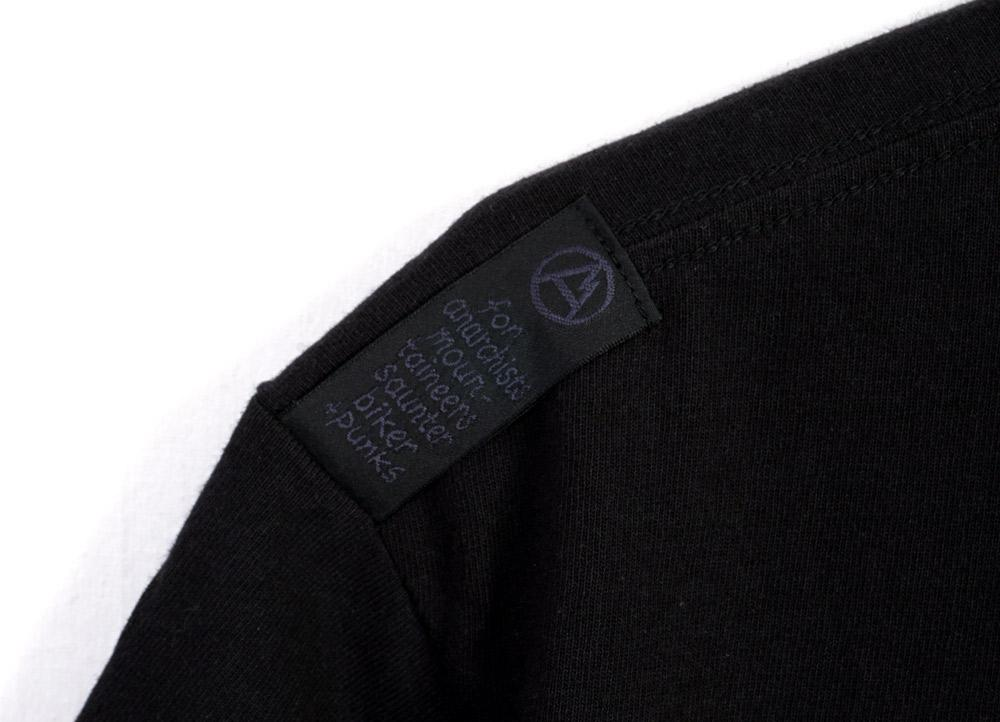 FAVORITE TRACK T | Fight For Your Right | Black | €115 -MOUNTAIN RESEARCH- HANSEN Garments