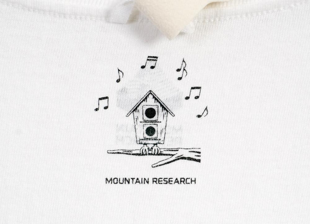 FAVORITE TRACK T | Fight For Your Right | White | €115 -MOUNTAIN RESEARCH- HANSEN Garments