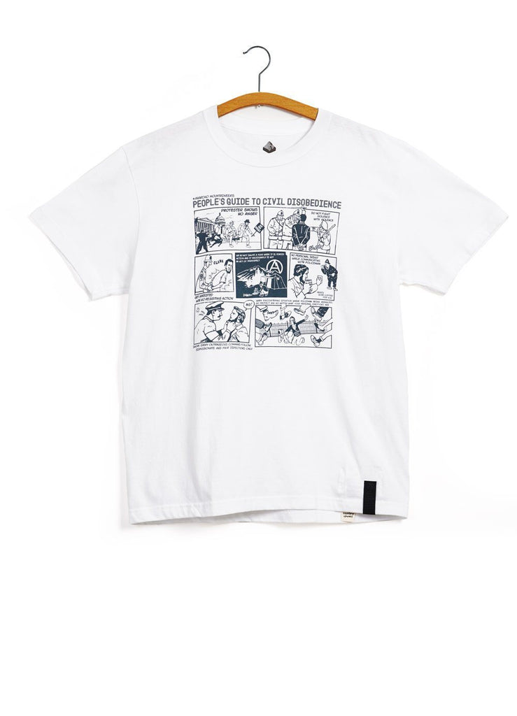 FAVORITE TRACK T | Guidance | White | €115 -MOUNTAIN RESEARCH- HANSEN Garments