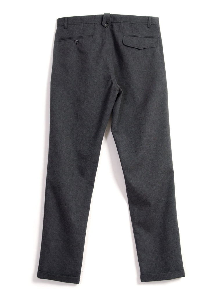 FRANK | Regular Fit Trousers | Graphite | €255 -HANSEN Garments- HANSEN Garments
