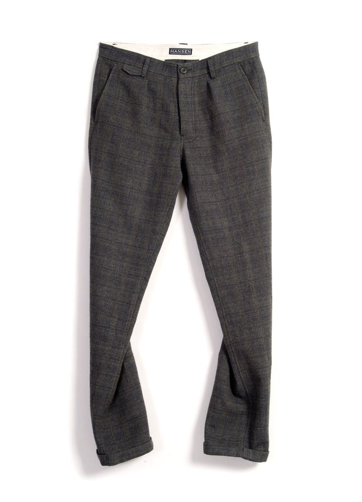 FRANK | Regular Fit Trousers | Trout | €280 -HANSEN Garments- HANSEN Garments