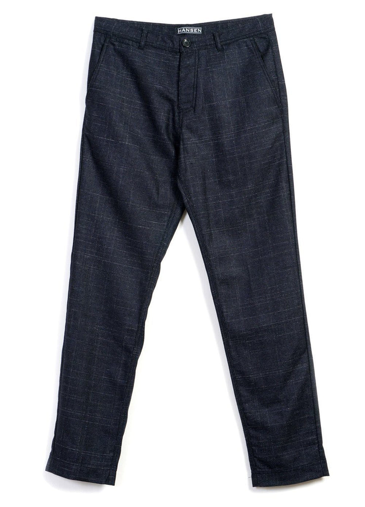 FRED | Regular Fit Trouser | Midnight | €240 -HANSEN Garments- HANSEN Garments