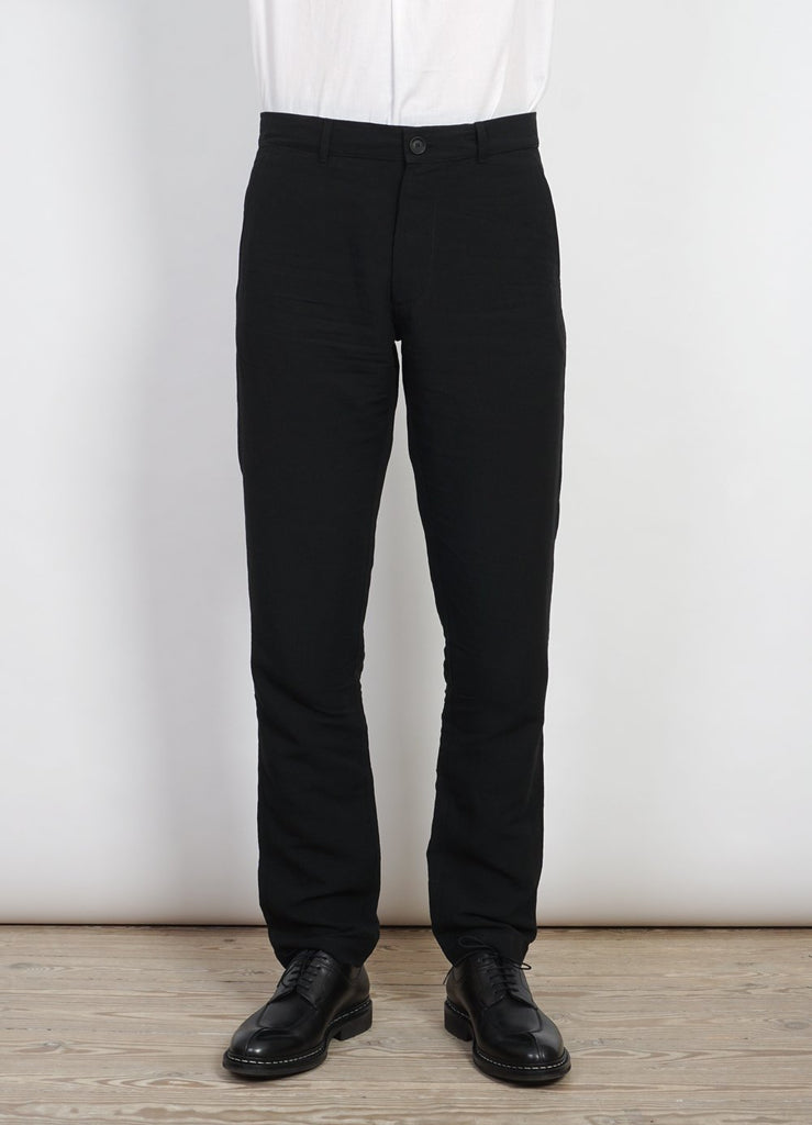 FRED | Regular Fit Trousers | Black -HANSEN Garments- HANSEN Garments