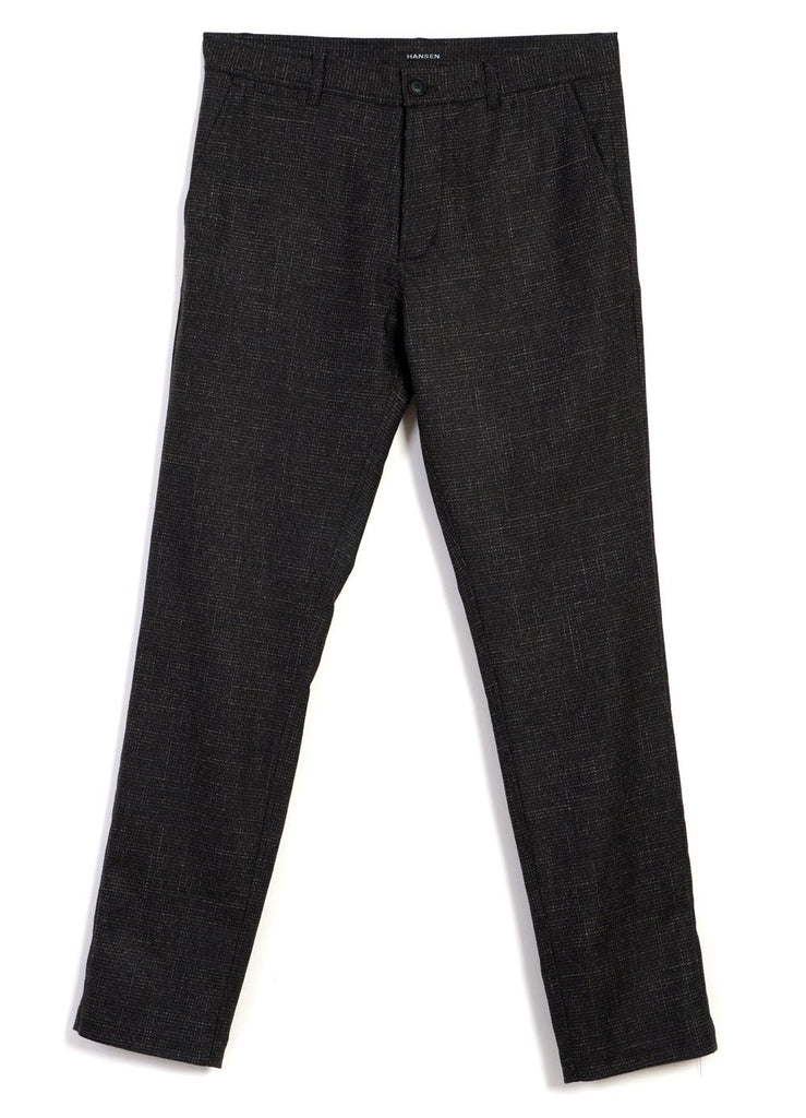 HANSEN Garments - FRED | Regular Fit Trousers | Macchiato - HANSEN Garments