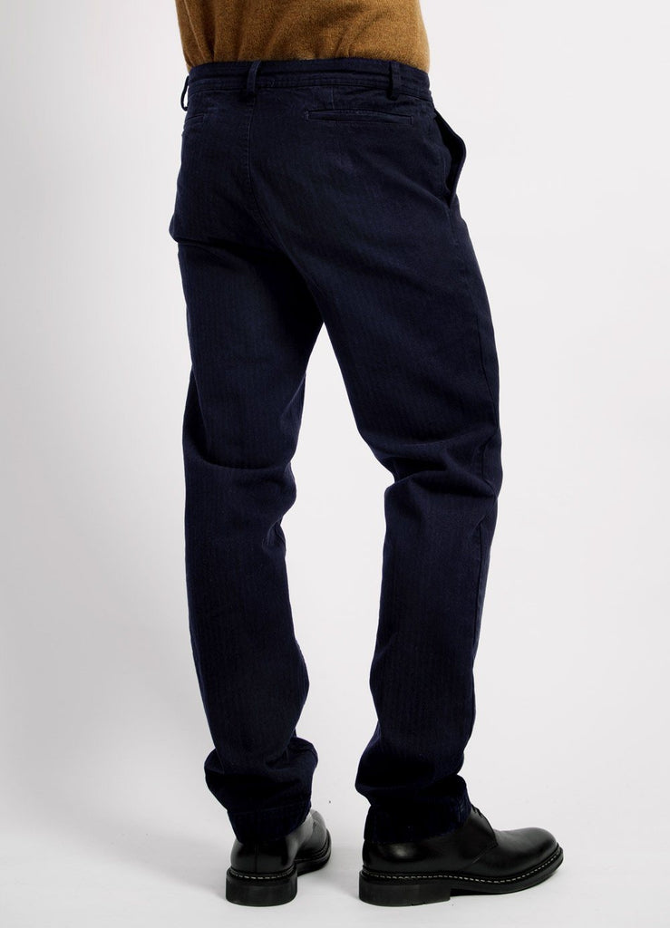 FRED | Regular Fit Trousers | Navy | €185 -HANSEN Garments- HANSEN Garments