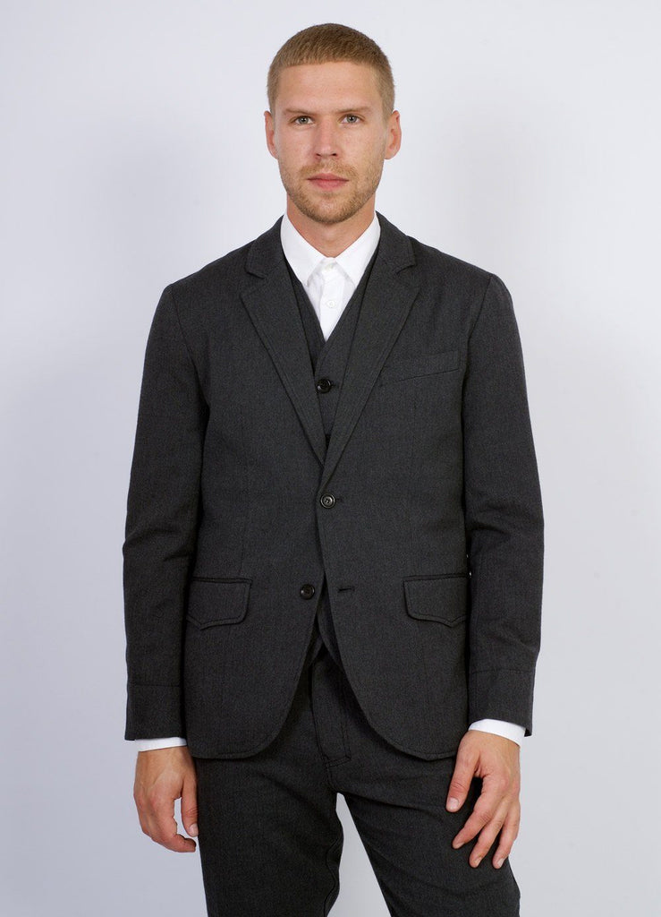 FREDERIK | Classic 2-Button Blazer | Graphite | €430 -HANSEN Garments- HANSEN Garments
