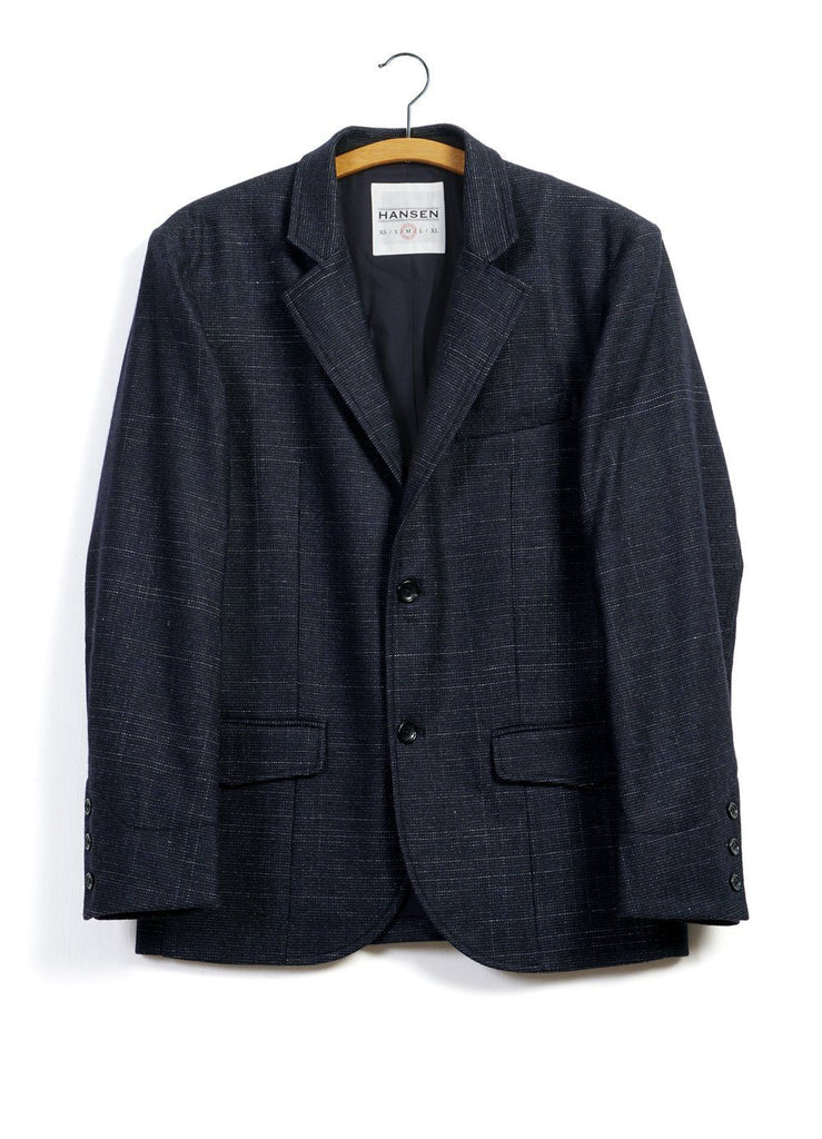 FREDERIK | Informal 2-button Blazer | Midnight | €400 -HANSEN Garments- HANSEN Garments