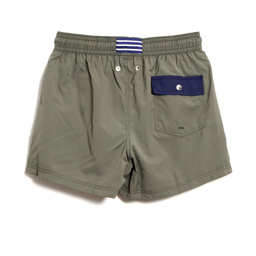 Atalaye - FREGATE RECYCLED | Swim Shorts | Seaweed | 100€ - HANSEN Garments
