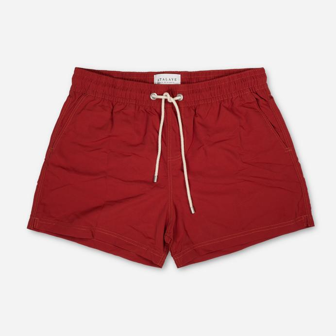 FRÉGATE Rip Stop | Swim Shorts | Rouge Brique | 90€ -Atalaye- HANSEN Garments