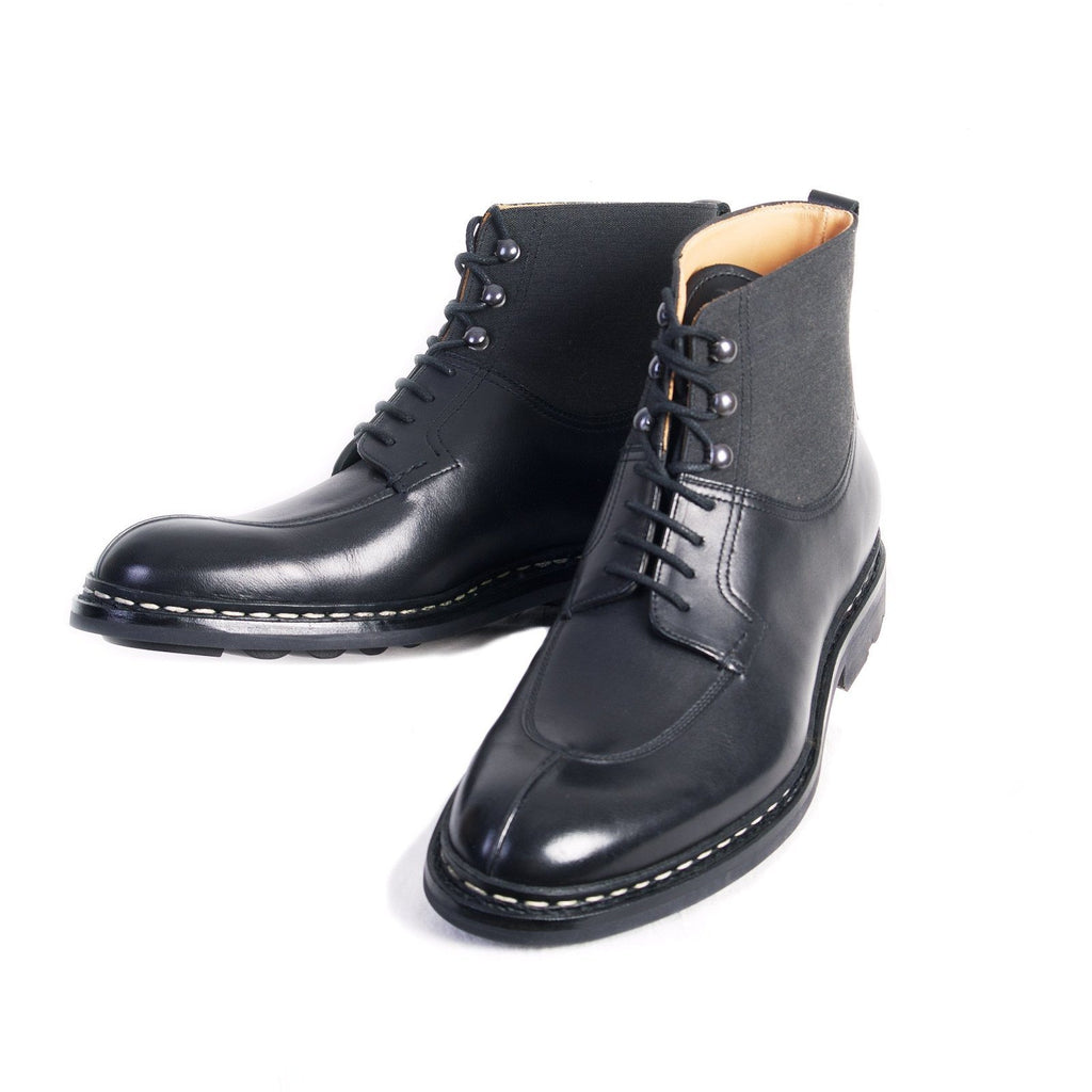 GINKGO | Leather Boots | Black | €560 -Heschung- HANSEN Garments