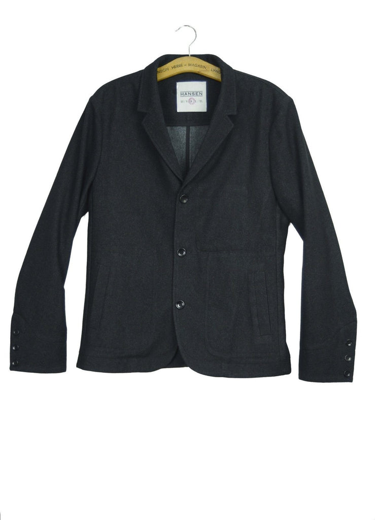 SOLD OUT - GORM Blazer | Black - HANSEN Garments