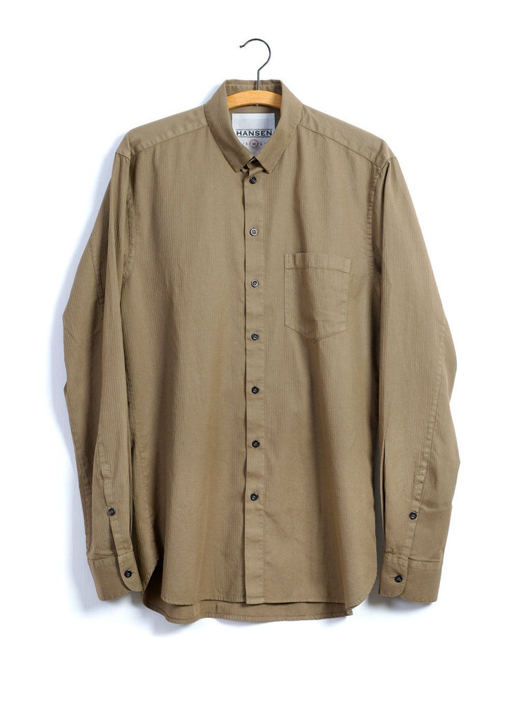 HAAKON | Hidden Button Down Shirt | Kalahari -HANSEN Garments- HANSEN Garments