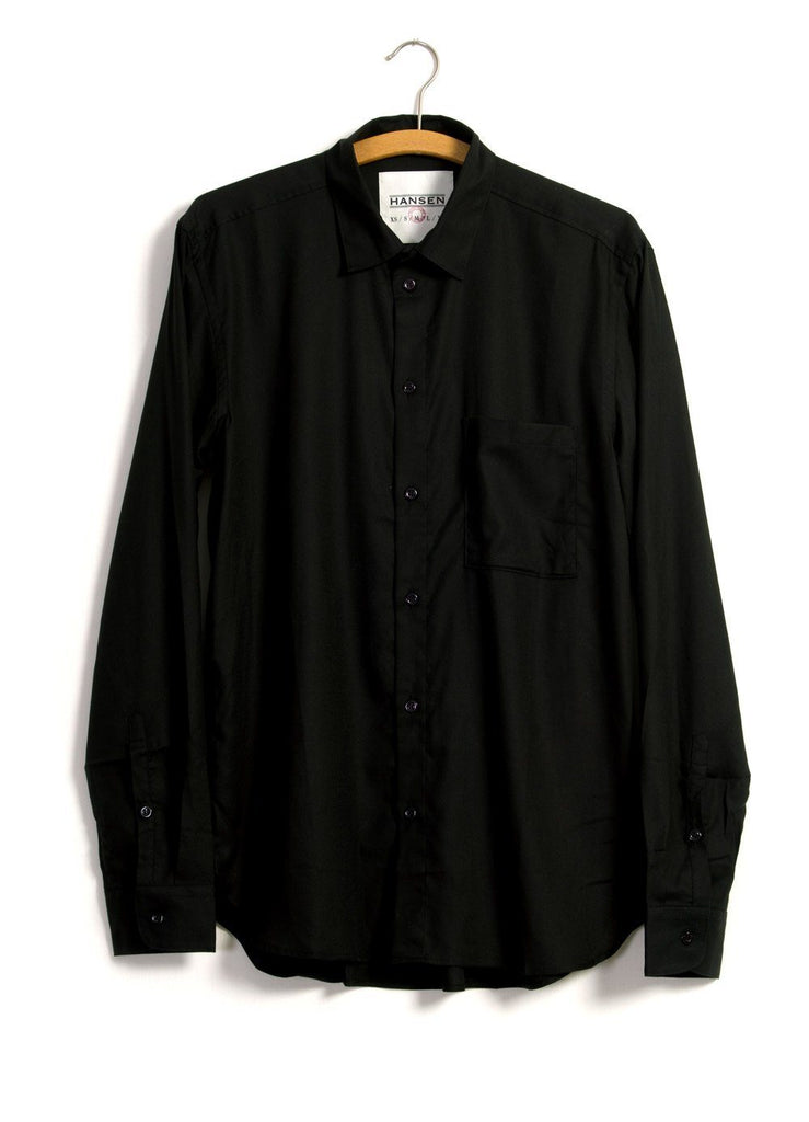 HANSEN Garments - HENNING | Casual Classic Shirt | Black - HANSEN Garments