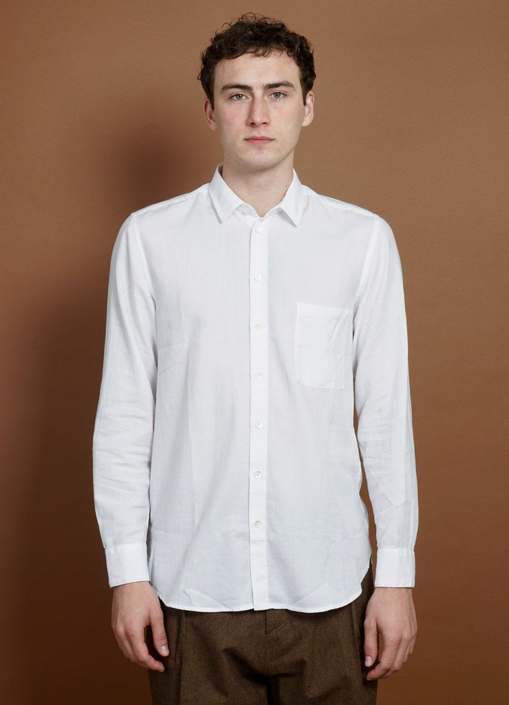 HANSEN Garments - HENNING | Casual Classic Shirt | White - HANSEN Garments