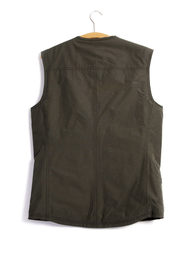 HERBERT | Lined Zipper Work Waistcoat | Tech Army | €255 -HANSEN Garments- HANSEN Garments