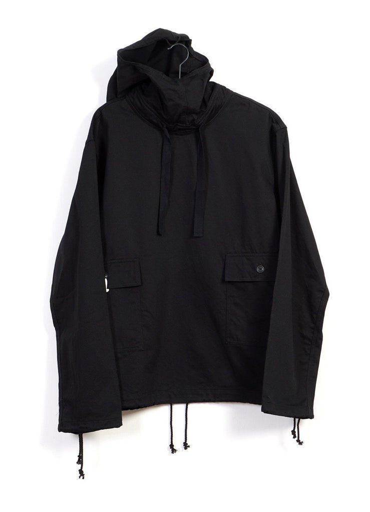 HOOD SMOCK | Hoodie Jacket | Black | €375 -MOUNTAIN RESEARCH- HANSEN Garments