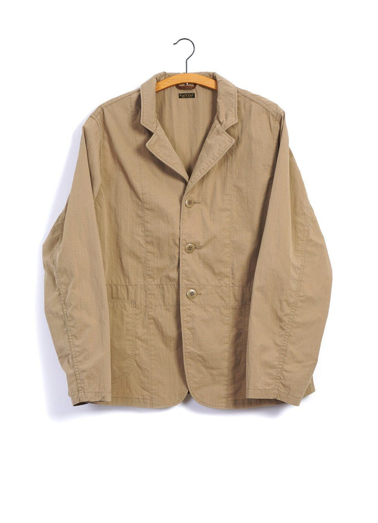 HOSPITAL JACKET | Rip Stop | Beige | €325 -Kapital- HANSEN Garments