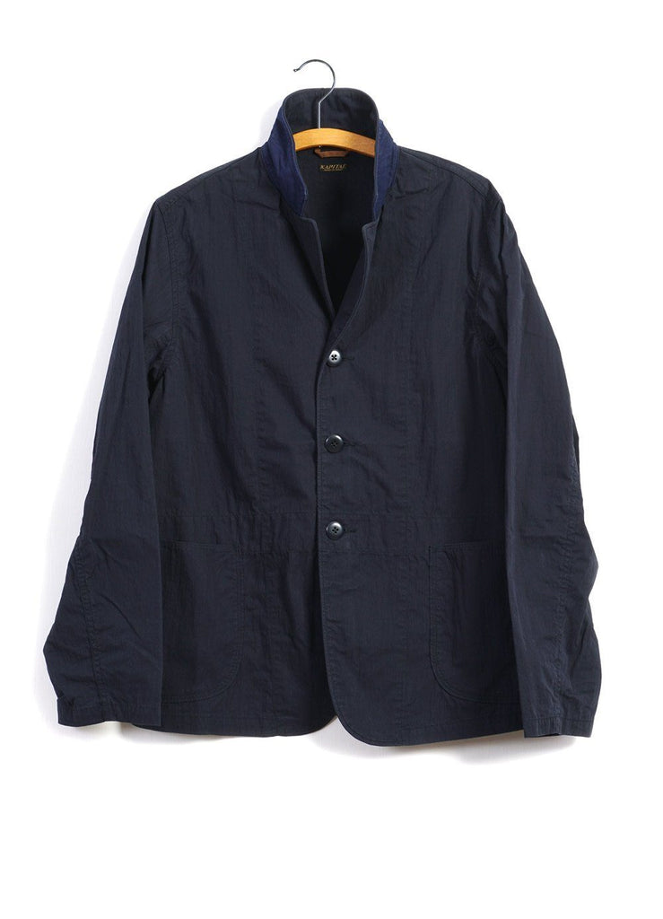 HOSPITAL JACKET | Rip Stop | Navy | €350 -Kapital- HANSEN Garments