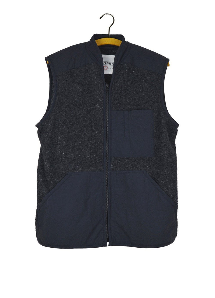 HUGO | Utility Vest | Grey | €240 -HANSEN Garments- HANSEN Garments