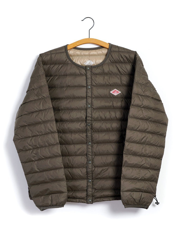 DANTON - INNER DOWN JACKET | Olive - HANSEN Garments