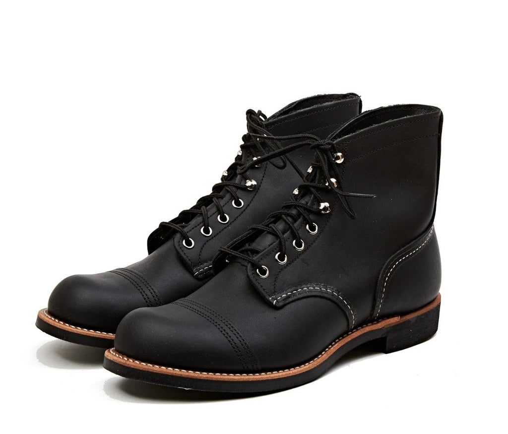 RED WING - IRON RANGER | 6-inch | Black Harness - HANSEN Garments