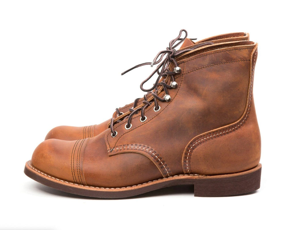 RED WING - IRON RANGER | 6-inch | Copper Rough & Tough - HANSEN Garments