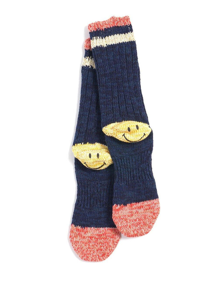 IVY SMILEY | Cotton Hemp Socks | Navy | €40 -Kapital- HANSEN Garments