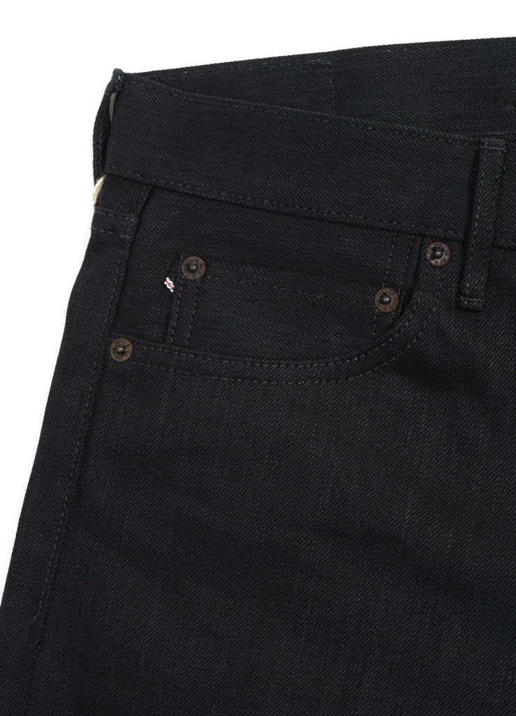 JAPAN BLUE | JB0716  14oz Tight Straight Black Denim